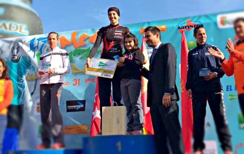 Podio en la Media Maratón de Getafe
